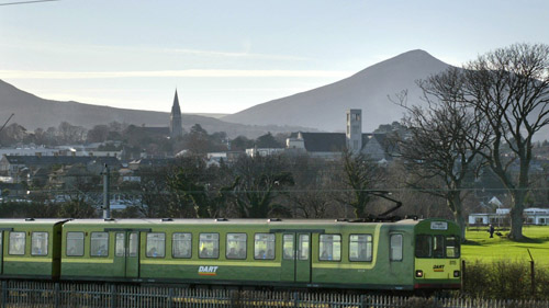 View of DART with Sugarloaf Mountain