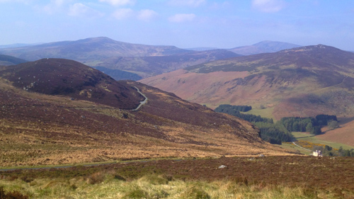 A view of the Wicklow Way which is being promoted as a possible film location